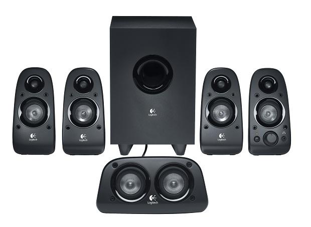 Logitech Surround Sound Speakers Z506 oferece melhor imersão sonora (Foto: Divulgação/Logitech)