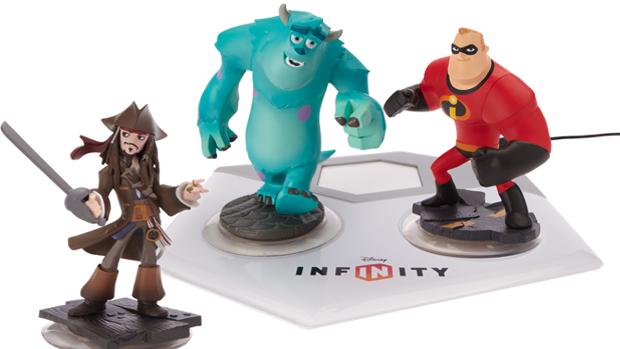 Disney Infinity tem bonecos reais (Foto: Divulgação)