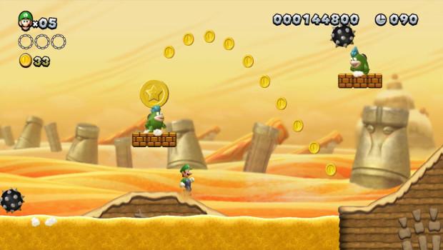 A volta de Luigi ao estrelato em New Super Luigi U (Foto: Divulgação)