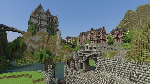 Minecraft chegará ao PlayStation 4 no lançamento do console. (Foto: Divulgação)