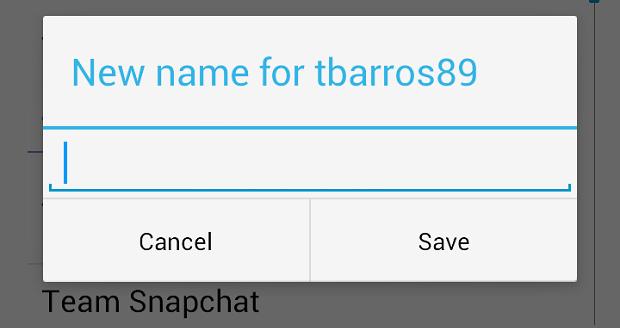 Aqui, você troca o nome de usuário (Foto: Reprodução Thiago Barros)