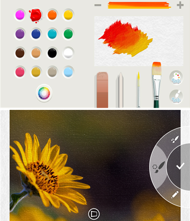 Fresh Paint promete dar asas à sua criatividade (Foto: Divulgação)