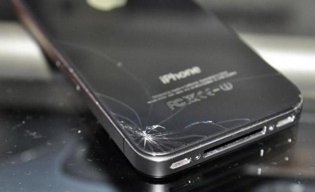 iphone quebrado (Foto: Reprodução / geek.com)