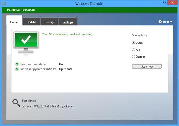 Plataforma de segurança da Microsoft pode deixar a desejar em situações críticas (Foto: Reprodução/Softpedia)