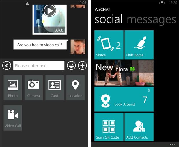 WeChat para Windows Phone traz interface diferente e é mais completo que WhatsApp (Foto: Divulgação)