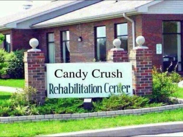 Centro de reabilitação para os jogadores do game (Foto: Reprodução/ Candy Crush da Depressão)