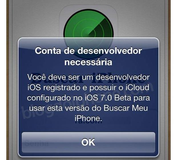 App de rastreamento ganhou atualização disponível só para desenvolvedores (Foto: Reprodução/Blog do iPhone)