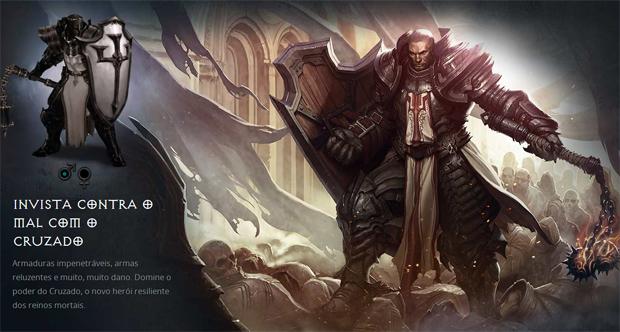 Cruzado é a nova classe em Diablo 3 (Foto: Reprodução)