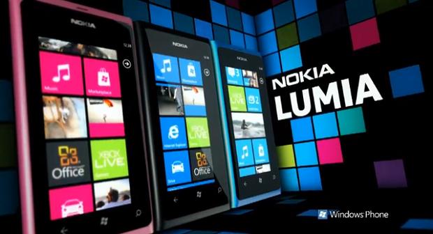 Característica dos modelos da linha Lumia são as cores vibrantes (Foto: Divulgação) (Foto: Característica dos modelos da linha Lumia são as cores vibrantes (Foto: Divulgação))