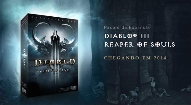 Reaper of Souls é a expansão de Diablo 3 (Foto: Reprodução) (Foto: Reaper of Souls é a expansão de Diablo 3 (Foto: Reprodução))