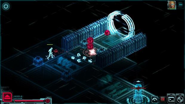 Hackear sistemas usando a MATRIX é um elemento pouco explorado em Shadowrun Returns (Foto: Divulgação)