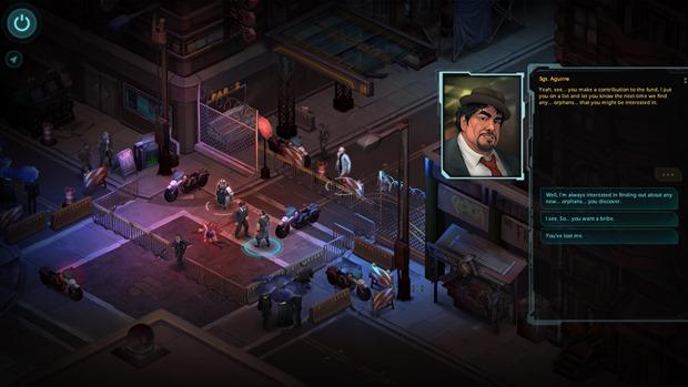 Shadowrun Returns tem jogabilidade retrô com visual refinado (Foto: Divulgação)