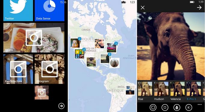 O 6tag tem a interface e efeitos semelhantes ao do Instagram (Foto: Reprodução/Windows Phone Central) (Foto: O 6tag tem a interface e efeitos semelhantes ao do Instagram (Foto: Reprodução/Windows Phone Central))
