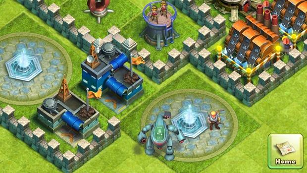 Battle Beach é um jogo com exércitos, muito parecido com Clash of Clans (Foto: Divulgação)