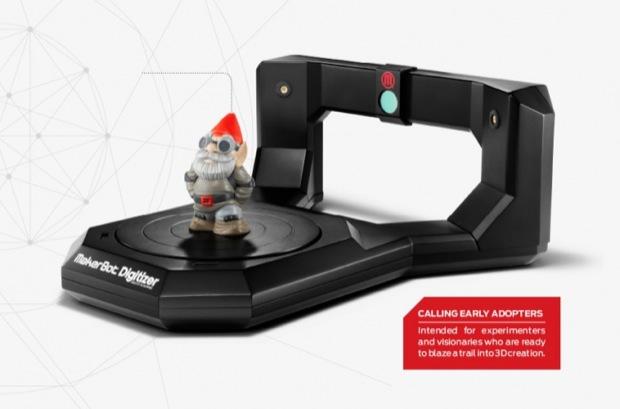 Scanner 3D MakerBot (Foto: Divulgação)