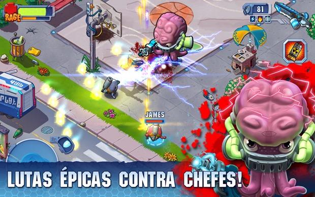 Monster Shooter-2 é um jogo com gráficos coloridos e muito bonitos (Foto: Divulgação)