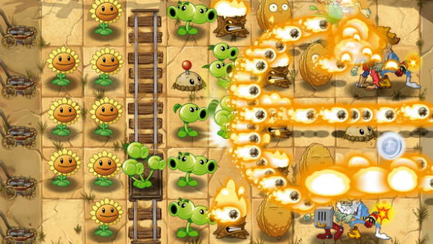 plants vs zombies 2 mantém a fórmula de sucesso do primeiro jogo