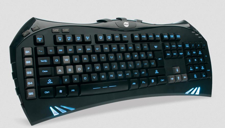 Nova linha gamer da Dazz conta com teclado (Foto: Divulgação)