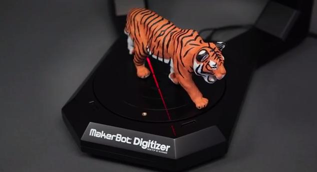 Digitizer Desktop 3D Scanner (Foto: Reprodução/YouTube)