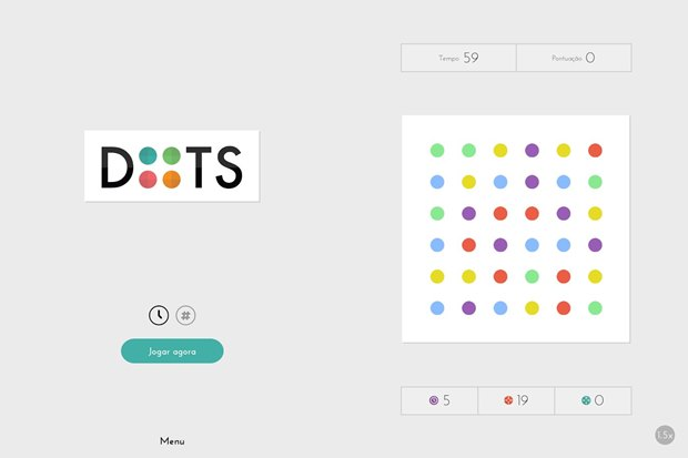 Dots beira a genialidade de Tetris, simples e viciante (Foto: Divulgação)