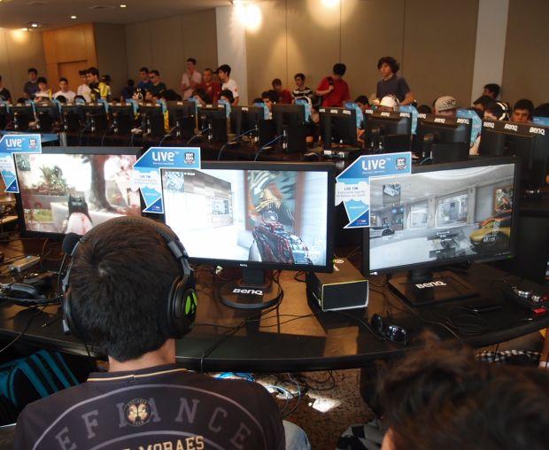 Times de jogadores profissionais jogam um dos FPS mais procurados na Batalha dos Games: Call Of Duty Black Ops 2 (Foto: Pedro Zambarda/TechTudo)