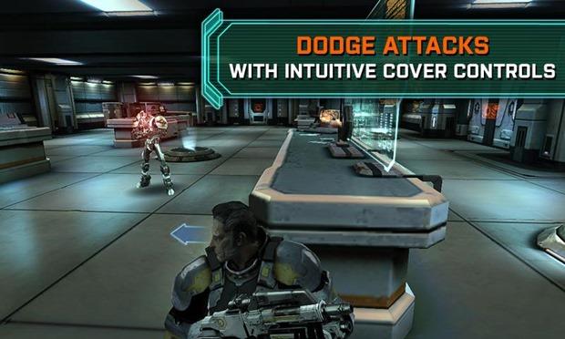 Mass Effect Infiltrator tem gráficos de primeira no iOS (Foto: Divulgação)