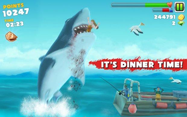 Os tubarões nunca foram tão malvados como Hungry Shark Evolution (Foto: Divulgação)