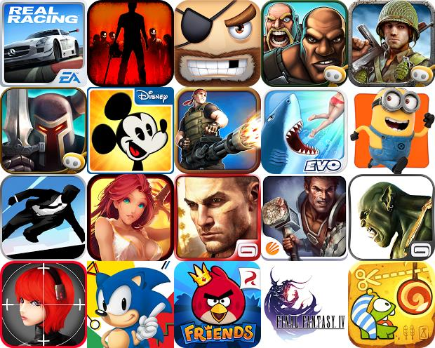 Instale no seu smartphone os melhores jogos para Android em 2013 (Foto: Montagem / Dario Coutinho)