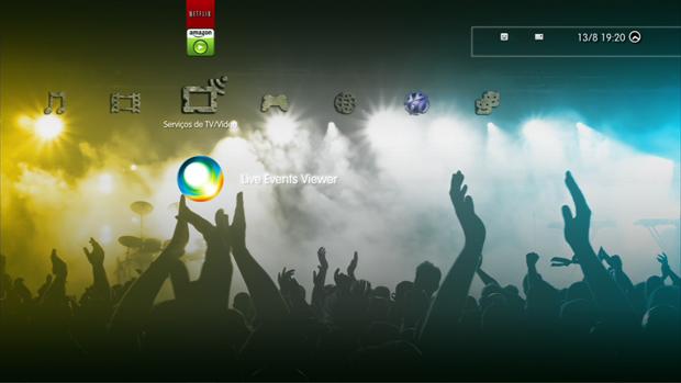 O LEV será disponibilizado no ícone de Serviços de TV e Vídeo. (Foto: Reprodução)