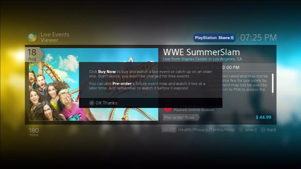O próximo evento disponível é o WWE SummerSlam. (Foto: Reprodução)