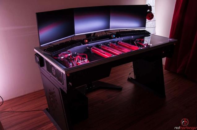 Cross Desk ganha produção por empresa graças ao Kickstarter (Foto: Reprodução/Red Harbinger)