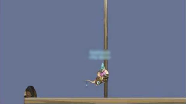 Escalar em Transformice exige muito treino e timing (Foto: youtube.com)