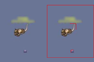 O truque para Quinar é ter uma boa noção da ponta dos objetos e do rato (Foto: transformicetf.wordpress.com / Reprodução: Rafael Monteiro)