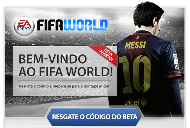 Fifa World está em fase beta (Foto: Reprodução/Thiago Barros) (Foto: Fifa World está em fase beta (Foto: Reprodução/Thiago Barros))