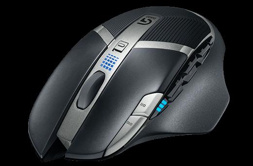 G602; Novo mouse da Logitech tem layout arrojado (Foto: Divulgação)