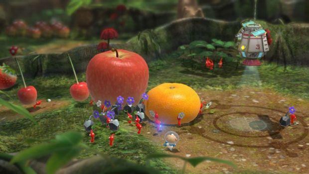 Frutas são um dos objetivos dos jogadores em Pikmin 3 (Foto: Reprodução)