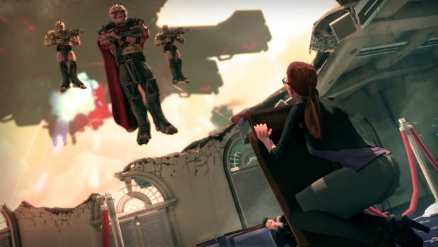 Mass Effect foi um dos alvos das piadas de Saints Row IV (Foto: Divulgação)