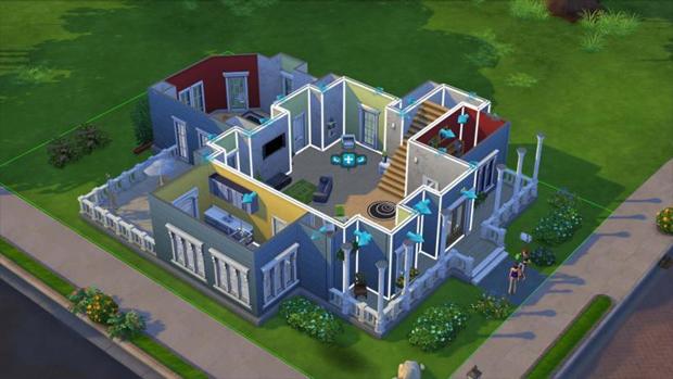 Construir sua casa dos sonhos será ainda mais fácil com The Sims 4 (Foto: vg247.com)