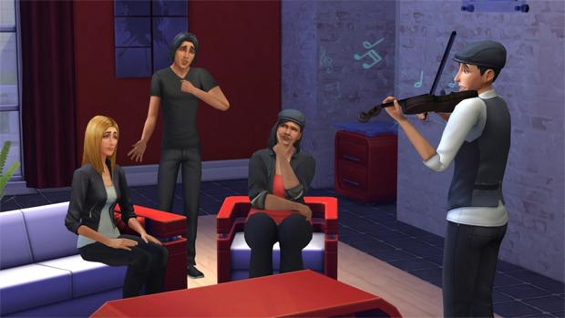 Ações e objetos poderão provocar emoções em The Sims 4 (Foto: otakustudy.com)