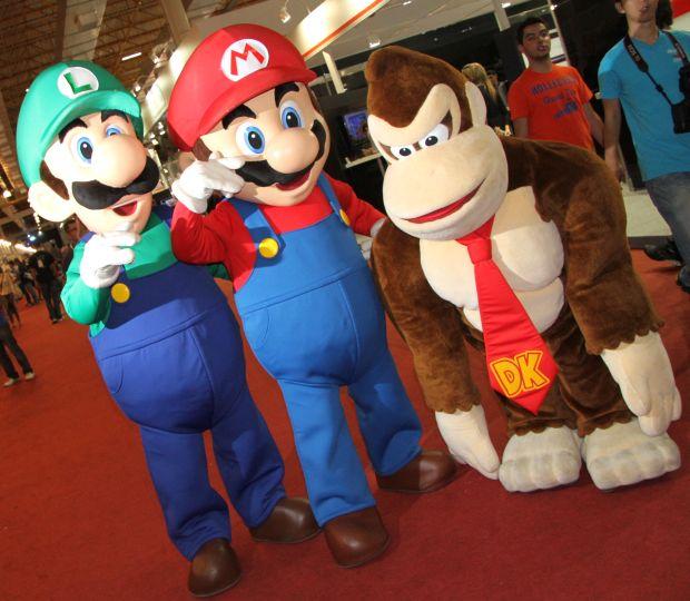 A BGS chegou a atrair 100 mil pessoas em 2012, para ver Mario, Luigi, Donkey Kong e muitos outros jogos (Foto: Divulgação/BGS)
