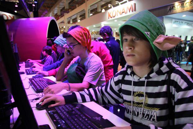 O foco da Brasil Game Show é principalmente o jogador brasileiro, apesar do evento servir para negociações (Foto: Divulgação/BGS)