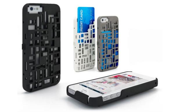 Case para telefone celular impresso já é vendido nos EUA (Foto: Reprodução / Hongkiat)