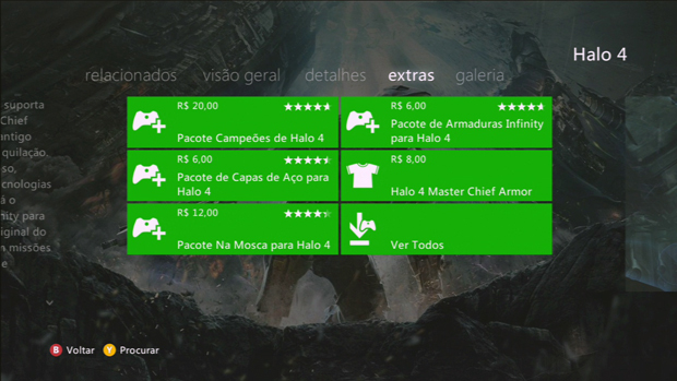 Conteúdos adicionais da franquia Halo trazem preços convidativos. (Foto: Reprodução)