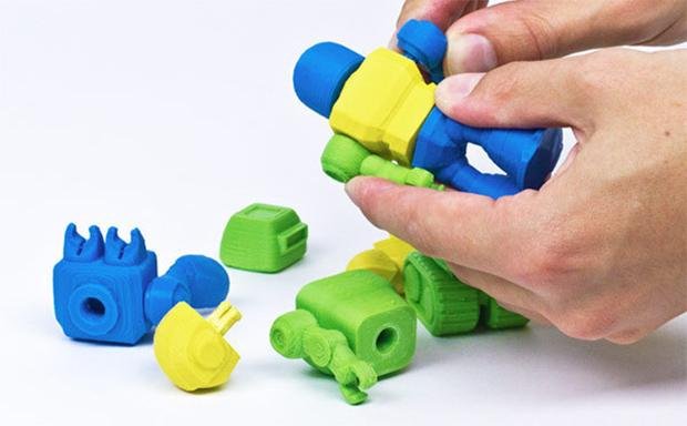 Cubify aposta no mercado de brinquedos impressos em 3D (Foto: Reprodução / Cubify)