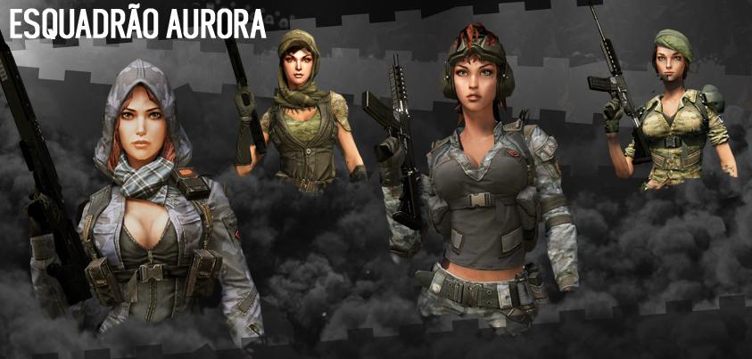 Warface tem agora personagens femininas (Foto: Divulgação)