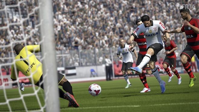 Corithians foi confirmado em Fifa 14 (Foto: Divulgação)