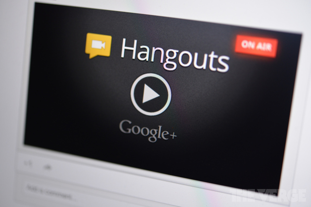 Google atualiza Hangouts com chats de vídeo em HD (Foto: Reprodução/The Verge)