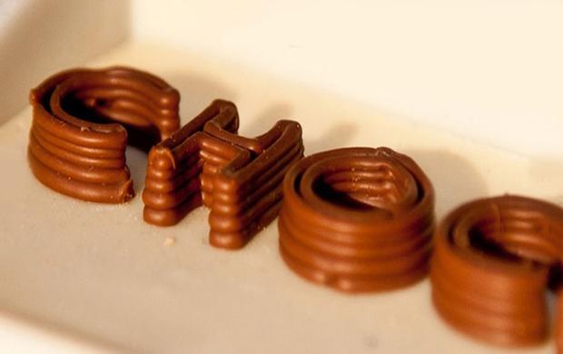 Máquina de chocolate da Choc Edge é uma das mais surpreendentes (Foto: Reprodução / Choc Edge)