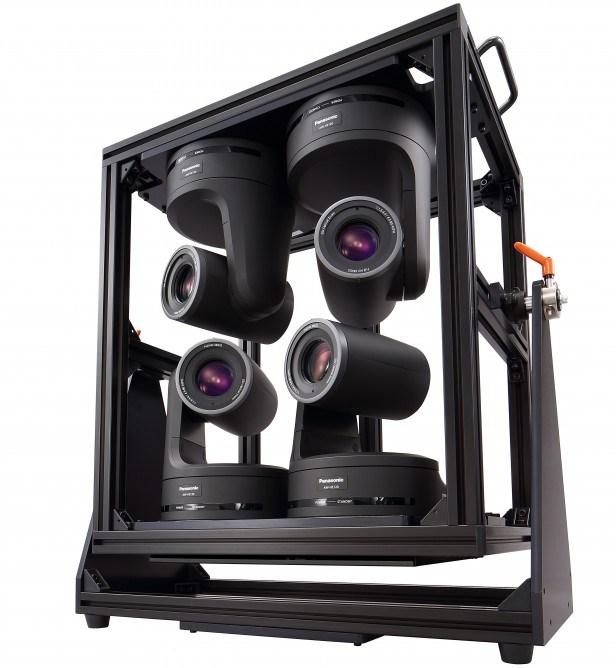 Módulo conta com quatro câmeras que podem ser operadas por um único profissional (Foto: Reprodução)