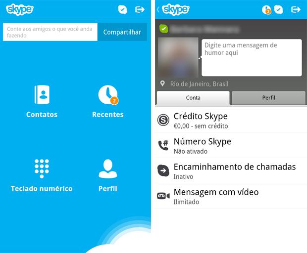 skype bb (Foto: Reprodução/Barbara Mannara)